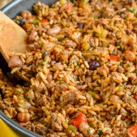 Syn Free Spicy Beef, Beans and Rice | Slimming World