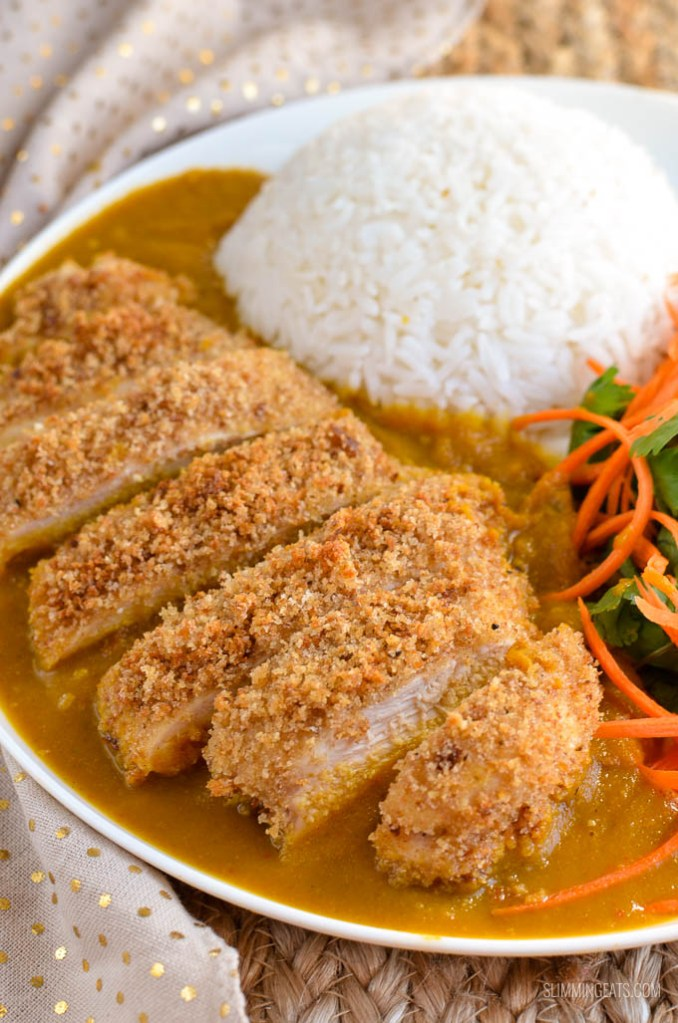 Low Syn Chicken Katsu Curry | Slimming Eats - Weight