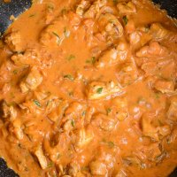 Low Syn Creamy Chicken and Tomatoes
