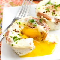 Low Syn Sausage and Egg Breakfast Muffins