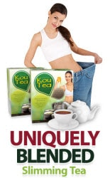 get slimmer body with kou-tea