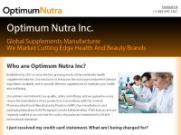 official website optimum nutra