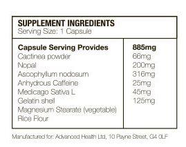 ingredient formula