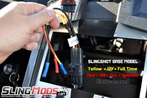 Polaris Slingshot Aftermarket Stereo Wiring Harness