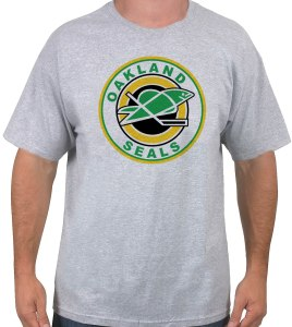 oakland-seals-heather-hockey shirt