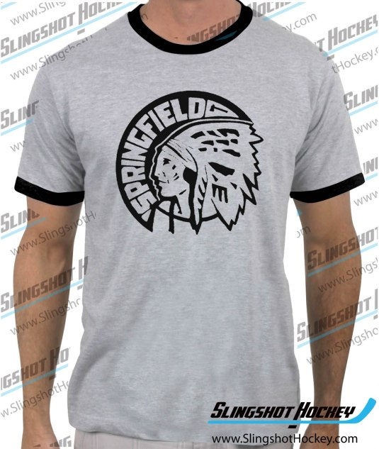 Springfield-Indians-ringer-heather-grey-black-mens-tshirt