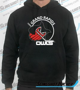 grand-rapids-owls-mens-black-sweatshirt-front-slingshot-hockey