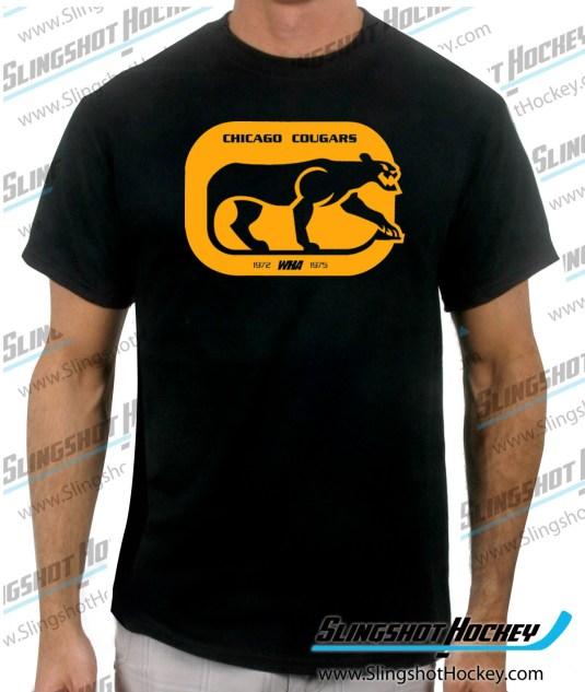 chicago-cougars-black-mens-hockey-tshirt