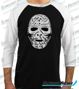 Gerry-Cheevers-Goalie-Mask-raglan-white-sleeve-black-body