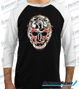 Gilles-Meloche-Cleveland-Barons-raglan-white-sleeve-black-body