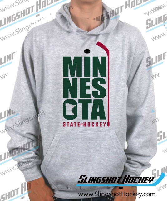 Minnesota-State-of-Hockey-heather-grey-hockey-hoodie
