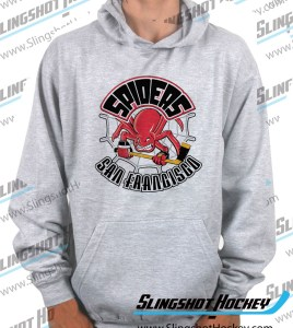San-Francisco-Spiders-heather-grey-hockey-hoodie