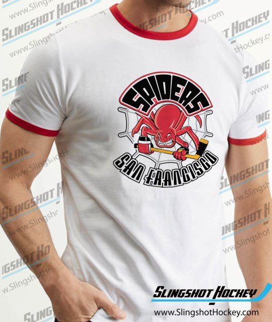 San-Francisco-Spiders-ringer-white-red-hockey-tshirt-SH