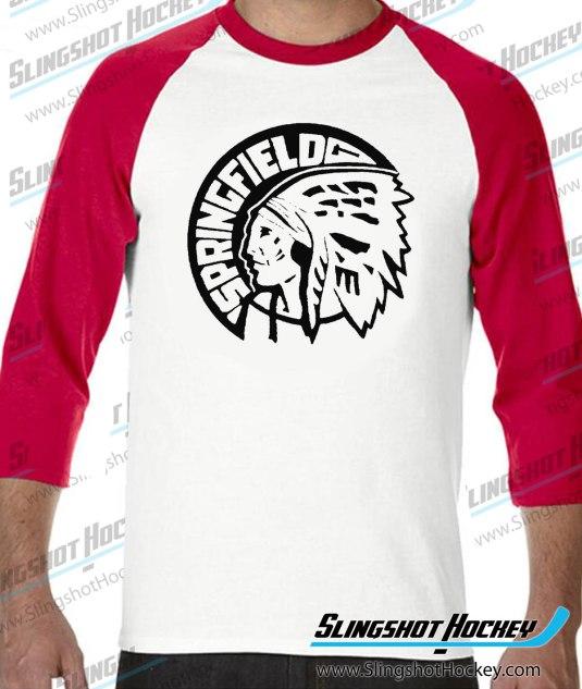 Springfield-Indians-raglan-white-red-slingshot-hockey