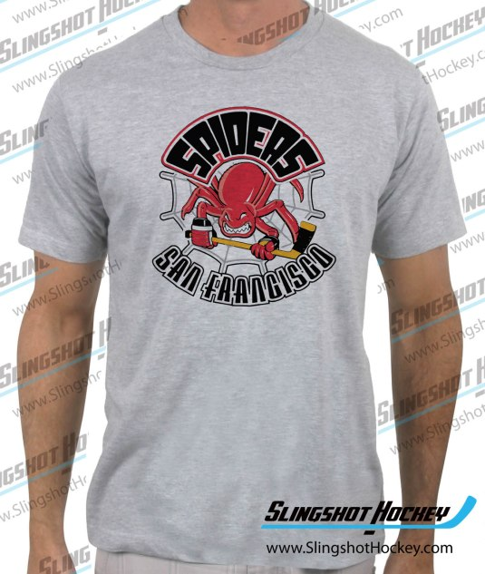 San_Francisco_Spiders-heather-grey-tshirt