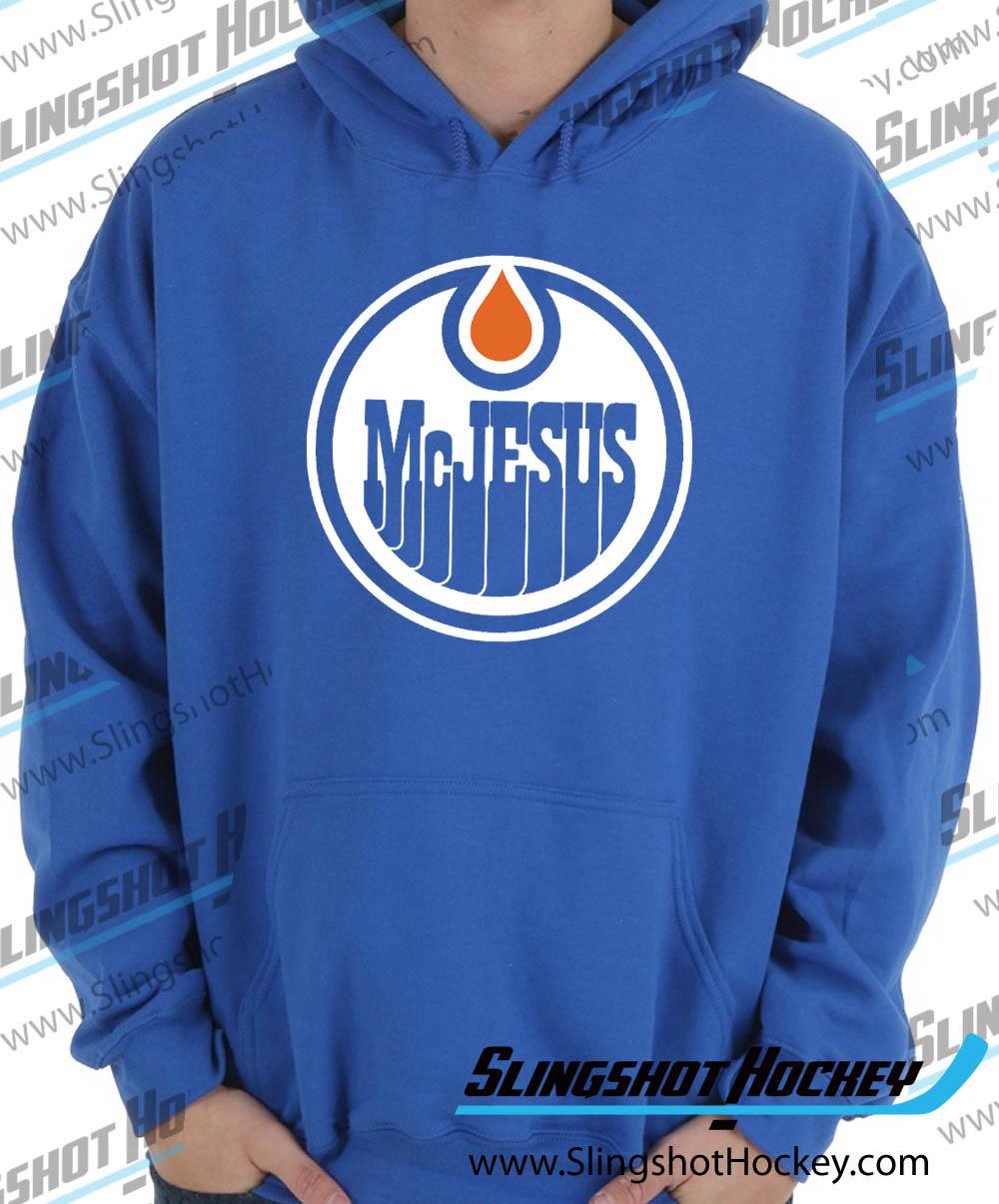 Connor Mcjesus : connor, mcjesus, McJesus, Pullover, Sweatshirt, Hoodie, Slingshot, Hockey