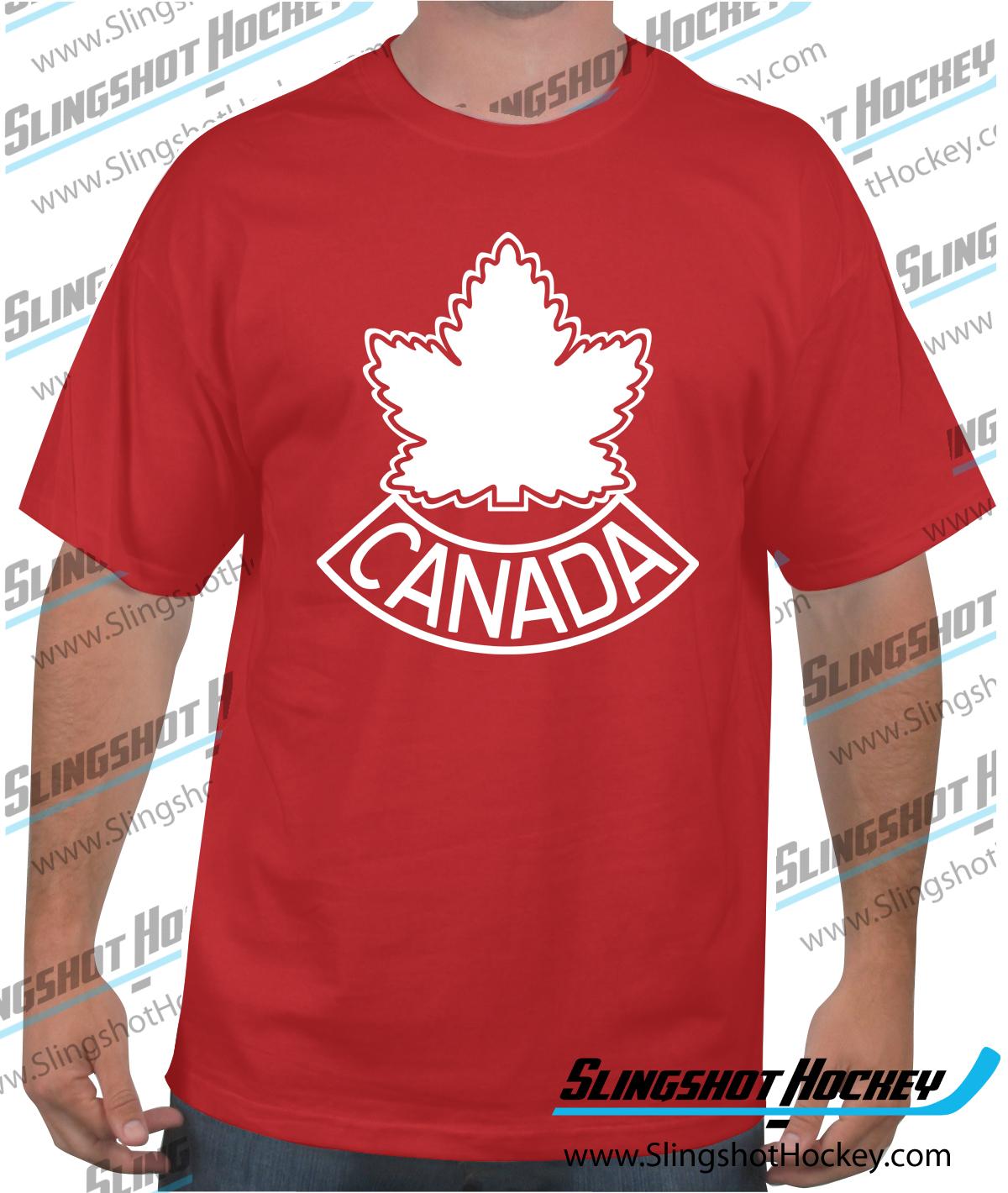 e90fe12075 Team Canada 1948. Shop now for the Team Canada 1948 retro hockey logo shirt.