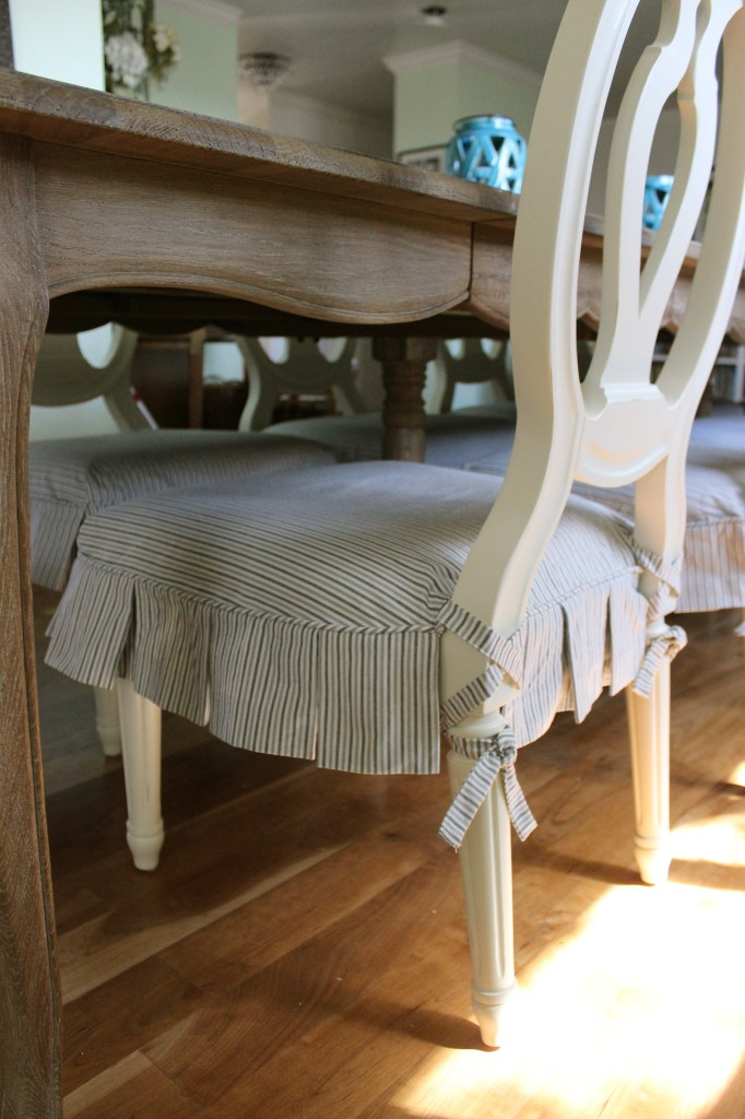 Ballerina Tie Dining Chair Slipcovers By Shelley