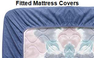 fitted mattress covers for twin full
