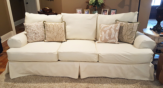 custom slipcovers custom sofa