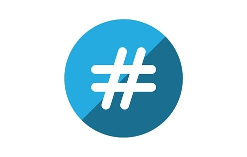 Popular marketing hashtags