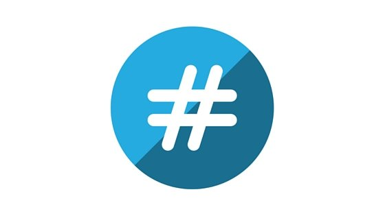 Using hashtags for social media