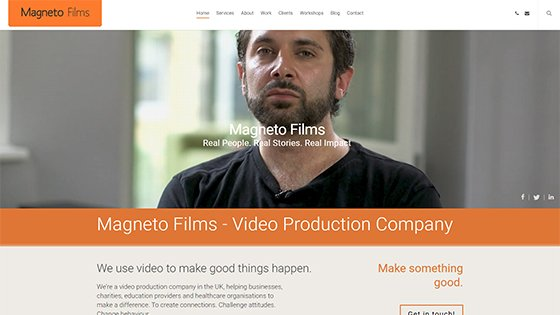 UK video marketing services by Magneto Films, London