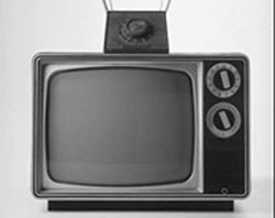 Early era black and white television