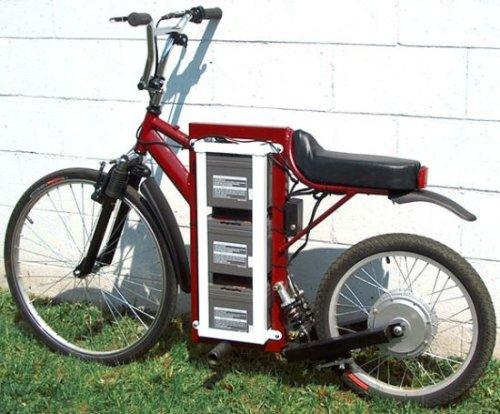 The LongRanger electric bike - SlipperyBrick.