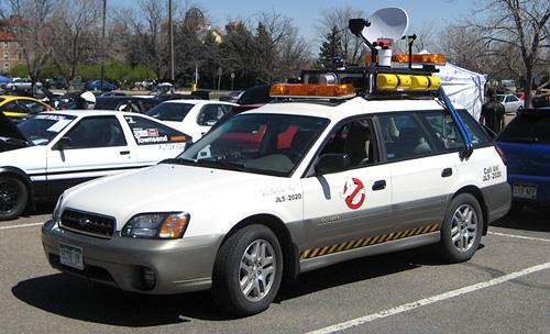 ...que daño hizo la crisis que los autonomos acaben vendiendo sus medios de transporte...ahora de que viviran los cazafantasmas? exorcistas amateurs?...