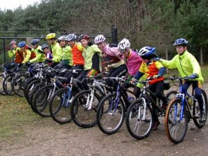 """Jenny and Slipstreamers at the Swinley Forest """"Lookout"""" ride in 2007!"""