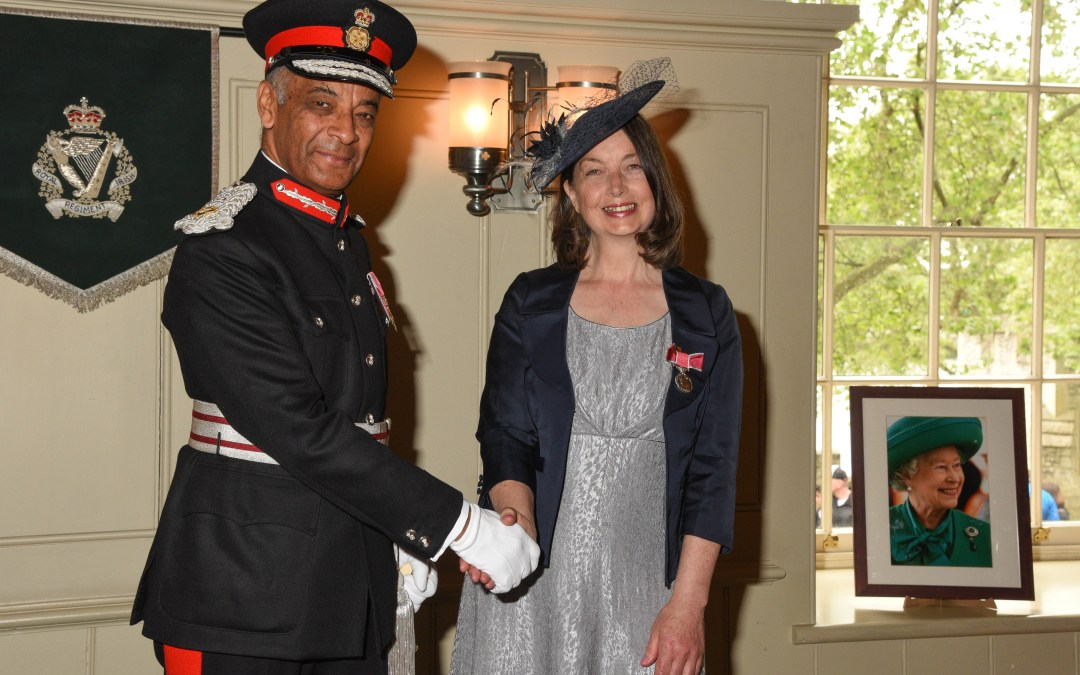 A British Empire Medal For Services to Cycling