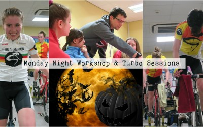 Spooky Start to Monday Night Autumn Workshop & Turbo Sessions