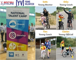 Well Done Young Volunteers Invited to National Talent Camp