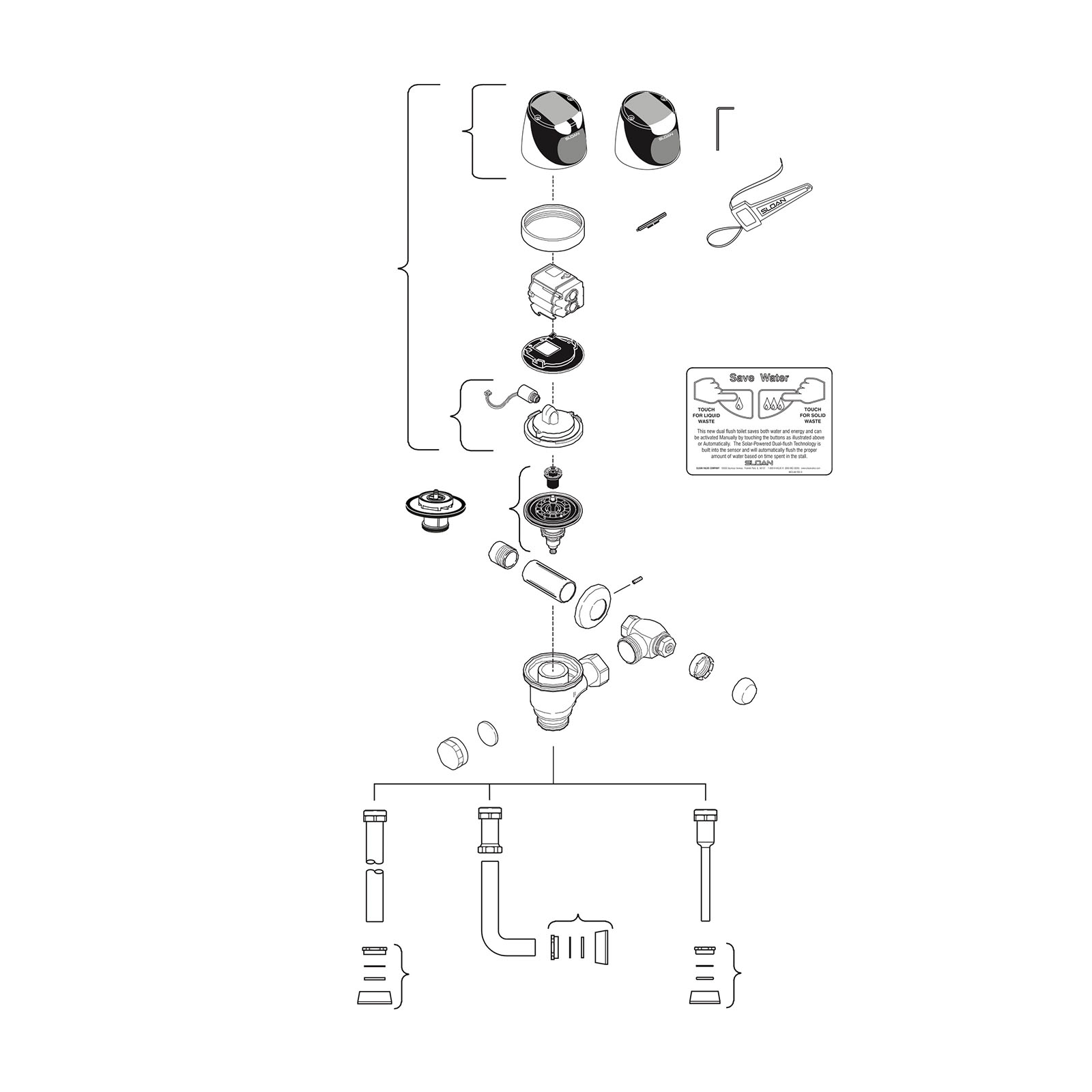 34 Sloan Flush Valve Diagram