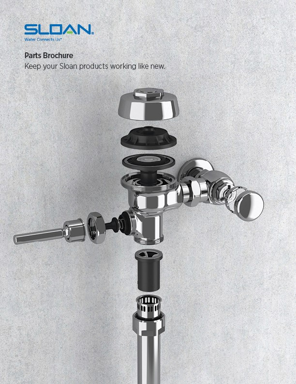 flushometer and faucet parts