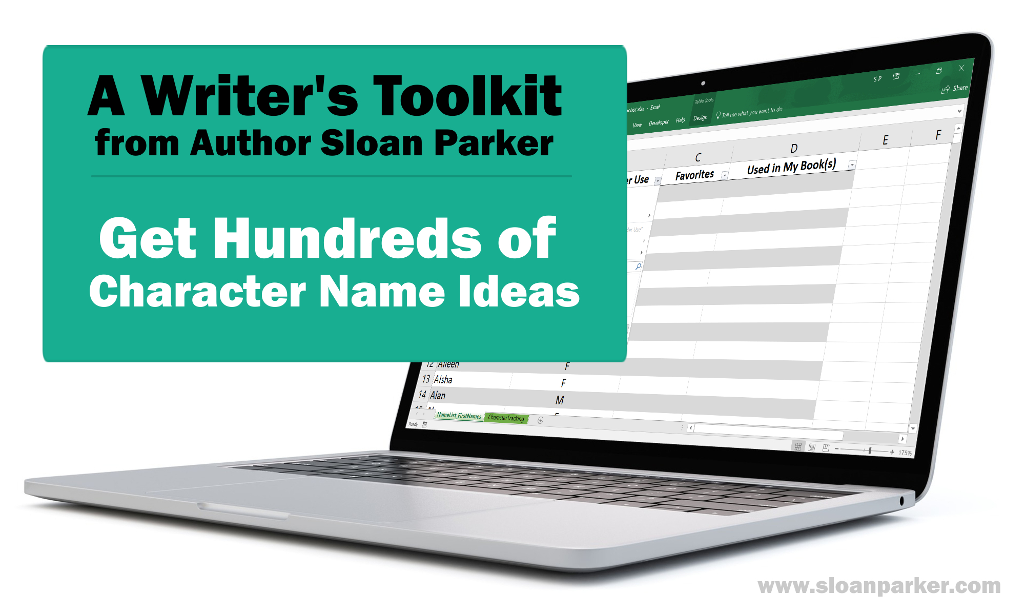 Character Name List For Fiction Writers And Authors