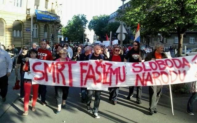 antifašisti marš zagreb