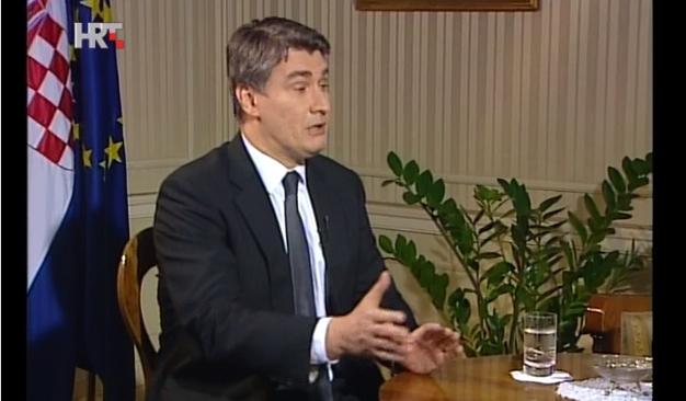 zoran milanović premijer pad bdp-a