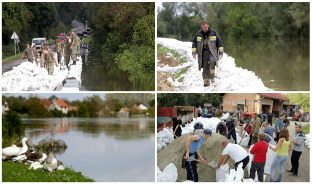 poplave vodostaj vodostaji izvanredno stanje