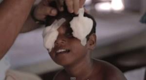 slijepa djevojcica