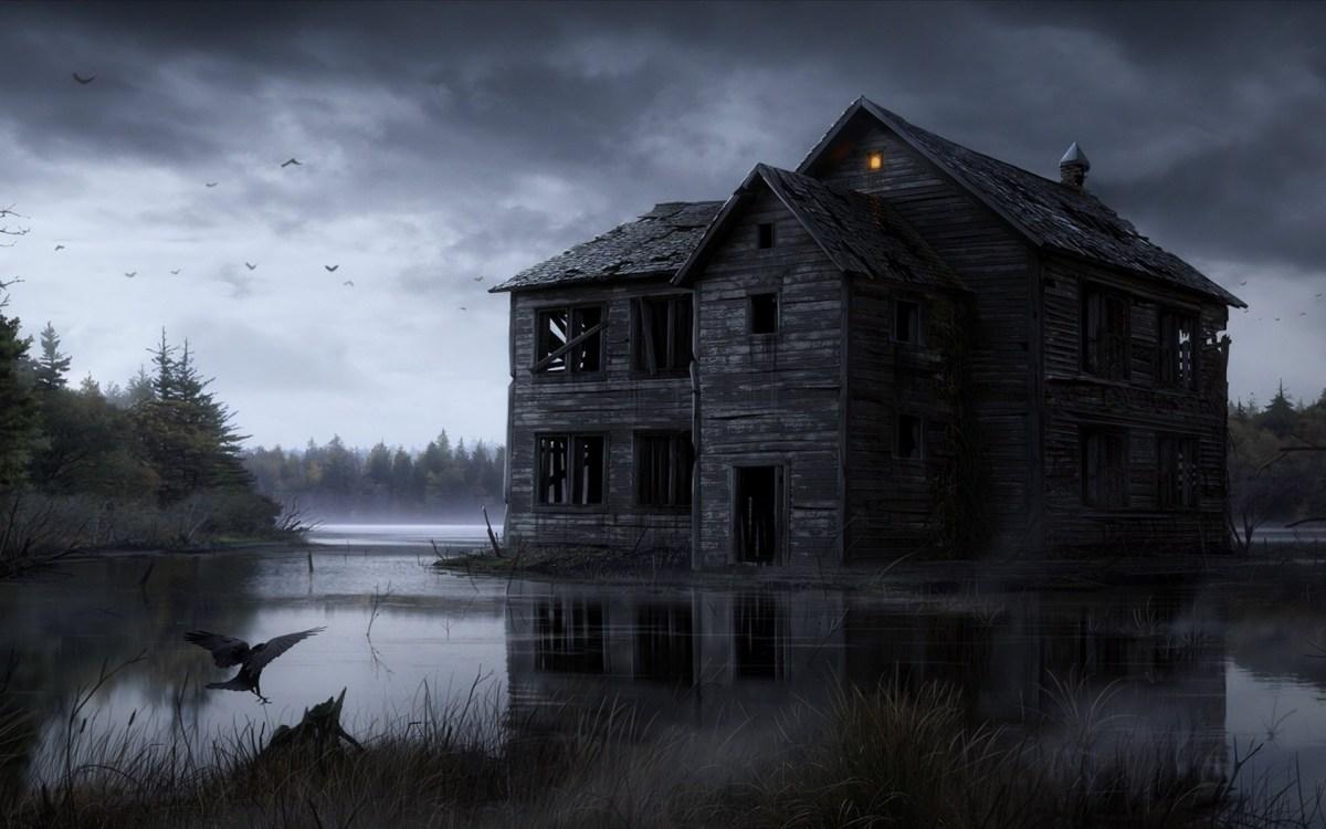 wallpapers halloween wallpaper house haunted