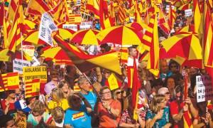 katalonija barcelona prosvjed neovisnost referendum