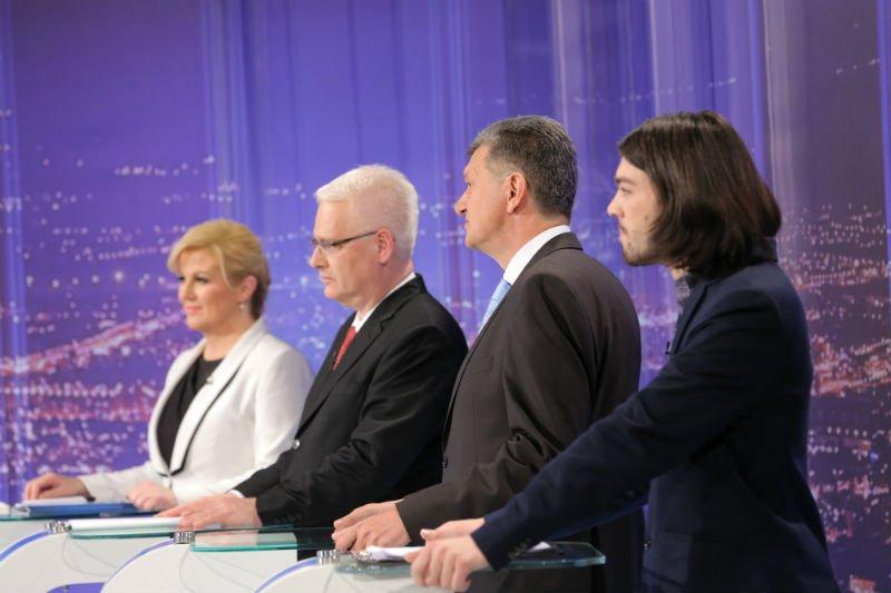 sučeljavanje kandidata nova tv josipović kujudnžić kolinda sinčić mislav bago