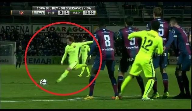 ivan rakitić barcelona gol