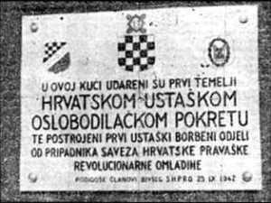 hrvatski ustaški pokret uhro ante pavelić poglavnik ustaše ustaša NDH nezavisna država hrvatska