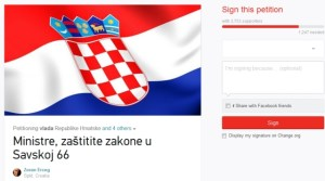 zoran erceg peticija branitelji savska šator