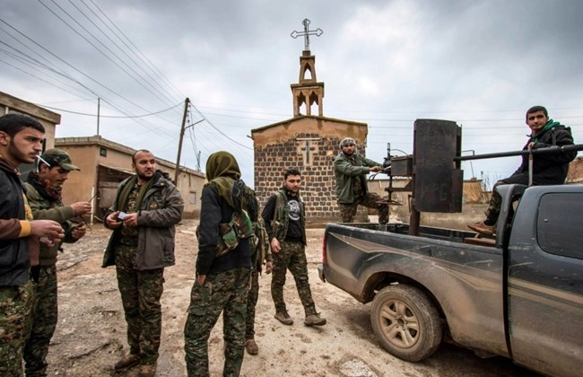 sirija kršćani isil islamska država