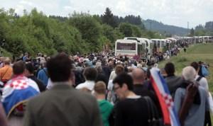 bleiburg 2015 bleiburška komemoracija tragedija križni put