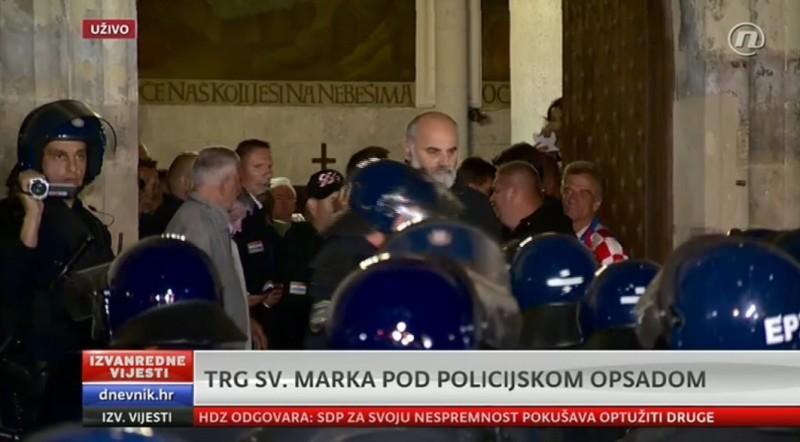markov trg branitelji policija crkva hčsp josip miljak široki brijeg 1945.